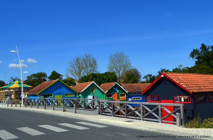 Главный устричный центр Франции - Остров Олерон (18 фото)