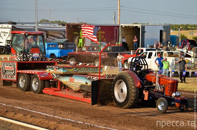 Трактора на стероидах или гонки по-техасски (29 фото + 2 видео)