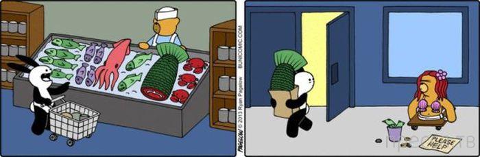 Веселые комиксы, часть 91 (23 фото)