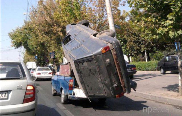 Дорожные несуразности... (40 фото)