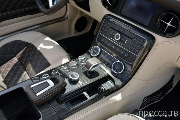 2013 - Мощный Mercedes SLS AMG GT Roadster с обновленным интерьером  (22 фото)