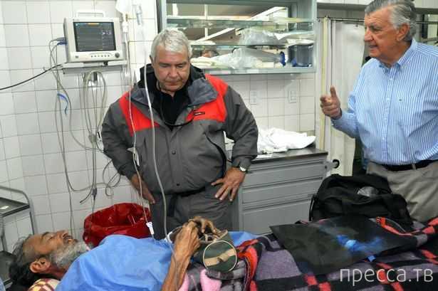 Случайно нашли туриста, пропавшего в горах 4 месяца назад (6 фото)