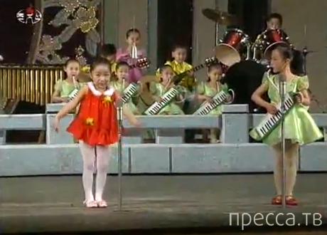 О чем поют эти милые детки? Жесть... (видео)
