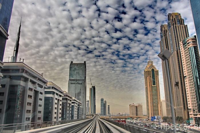 ОАЭ Дубай: Космическая архитектура (24 фото)