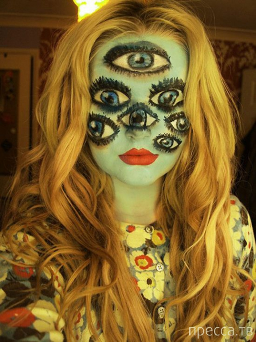 Креативные костюмы для Хеллоуина (34 фото)