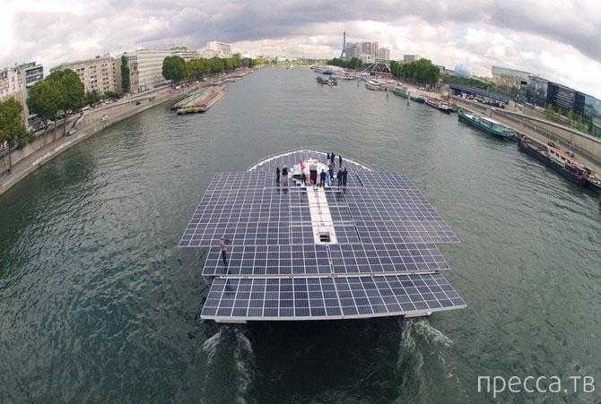 Planet Solar - самое большое в мире судно на солнечных батареях (15 фото)