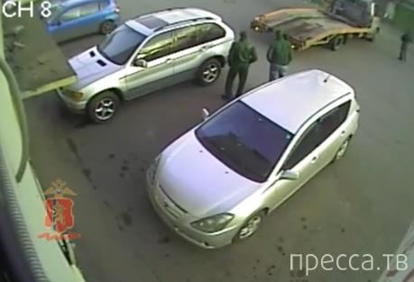 """Угнали """" БМВ Х-пятый"""" и продали на запчасти... Красноярск"""