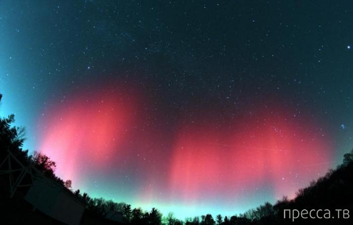 Сияние Красная Аврора - невероятная красота ( 12 фото)