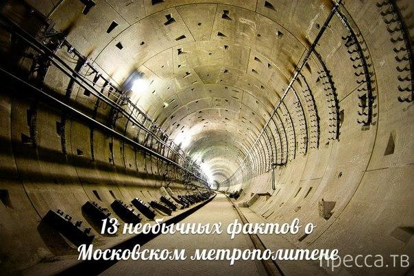 Топ 13: Необычные факты о Московском метро...