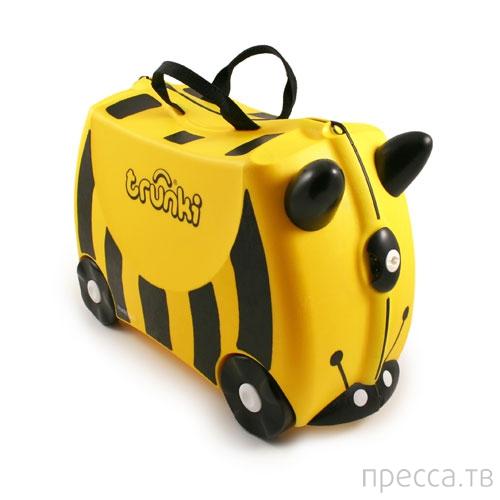 Тайна желтого чемоданчика...