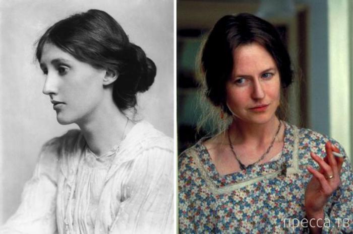 Поразительное сходство актеров и известных личностей, вошедших в историю (17 фото)