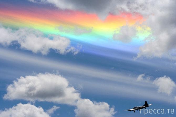 Подборка из  наиболее красивых природных феноменов, связанных с игрой света (14 фото)