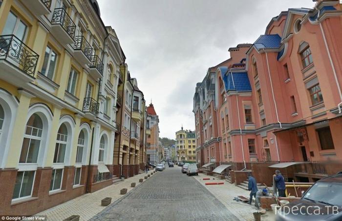 Элитный город–призрак в центре Киева (15 фото)