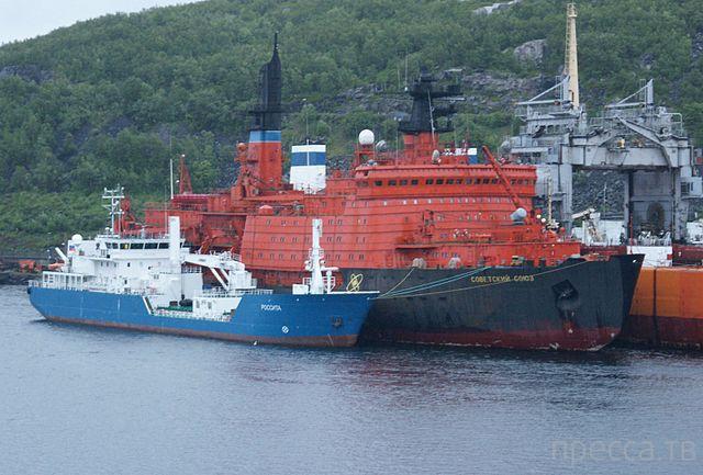 7 атомных ледоколов России ... (7 фото)