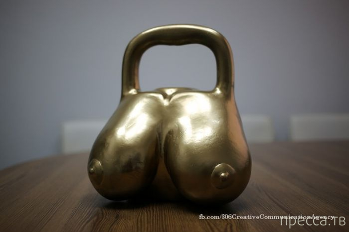 Гири для подъёма боевого настроя и мотивации на тренировках (9 фото)