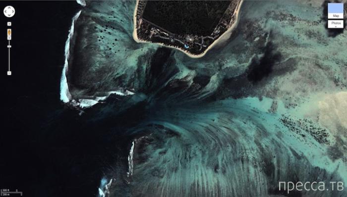 Подводный водопад? ... (6 фото)