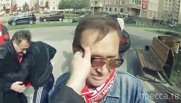 Прикол. Один день из жизни футбольного болельщика (видео)