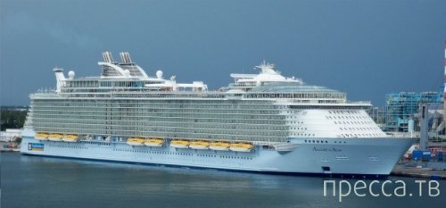 Топ 10: Самые интересные факты о круизных суднах (11 фото)