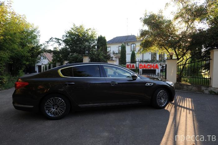 Новая KIA Quoris – авто представительского класса (26 фото)