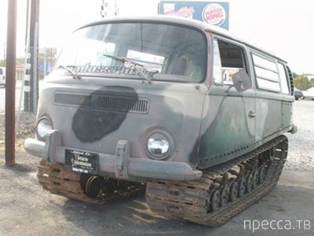 Очень необычные автомобили (30 фото)