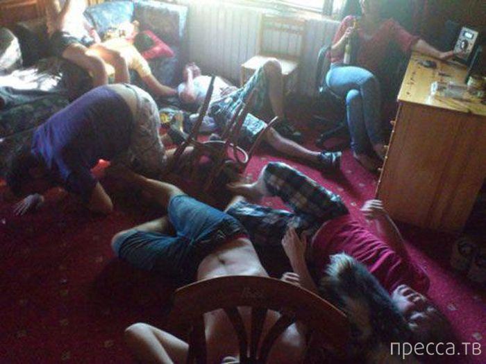 Подборка фотографий пьяных людей (55 фото)