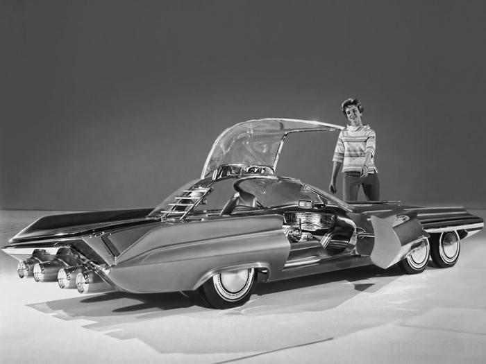 «Ford Seattle-ite XXI» - атомный автомобиль (3 фото)