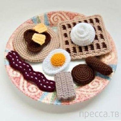 Удивительно аппетитные шедевры вязания (20 фото)