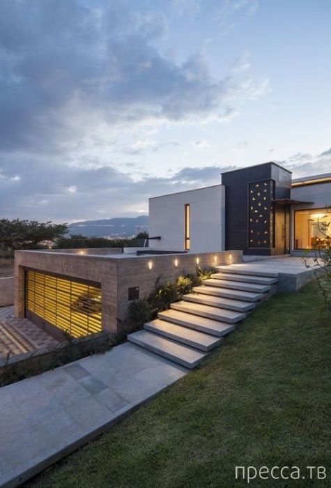 Коллекция фотографий самых потрясающих и креативных домов с необычными дизайнерскими решениями (75 фото)