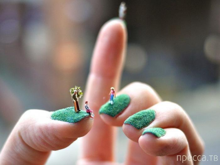 Nail-art - конкурс самого необычного маникюра в Сакраменто (13 фото)