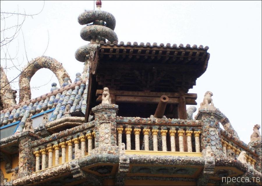 Фарфоровый дворец (Ci Fangzi) в китайском городе Тяньцзин (27 фото)