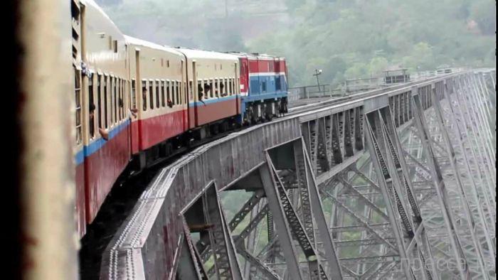 Виадук Готейк (Goteik) – самый высокий железнодорожный мост в Мьянме (6 фото)