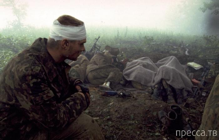 Русский спецназ. Печально всё это вспоминать. Чечня. Фотограф Eric Bouvet (24 фото)
