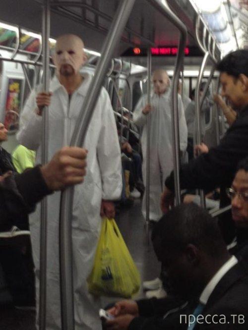 Странные люди из метро (20 фото)