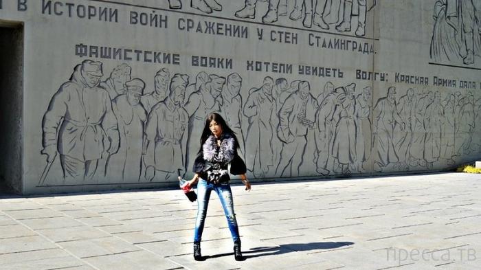 О моральных уродах... Очередная гламурная ТП - Алена Пискун посетила Волгоград (5 фото + видео)