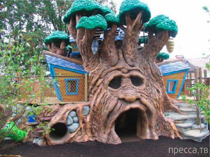 Фотографии самых удивительных детских площадок (22 фото)