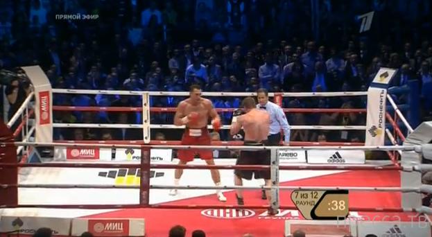 Владимир Кличко победил Александра Поветкина в бою года... 1) Нокдауны в 7 раунде; 2) Бой полностью