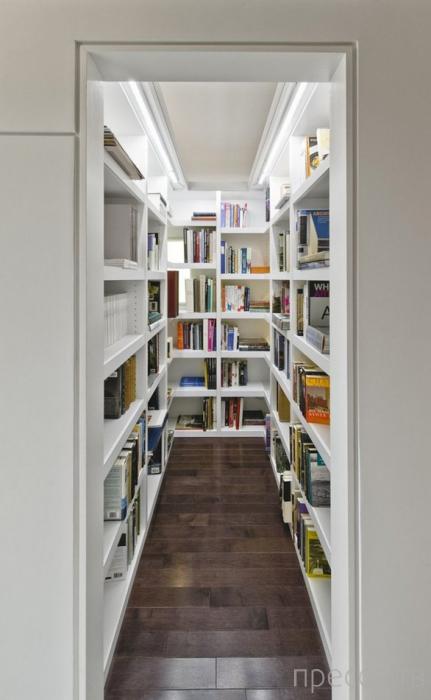 Оригинальные идеи для обустройства домашней библиотеки (15 фото)