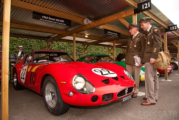 Ferrari 250 GTO - самый дорогой автомобиль в истории (6 фото)