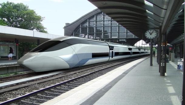 Необычные концепты скоростных поездов (25 фото)
