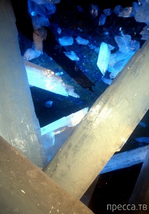 Cueva de los Cristales - Пещеры кристаллов в мексиканской пустыне (19 фото)