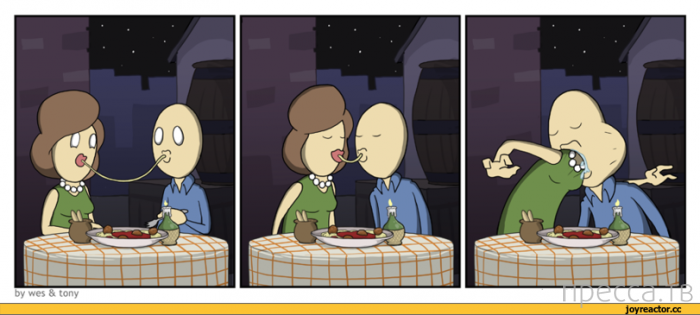 Веселые комиксы и карикатуры, часть 3 (16 фото)