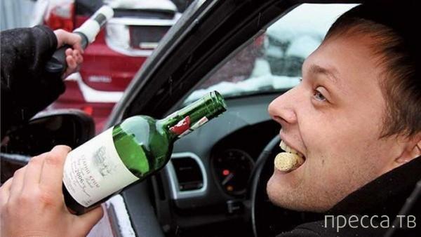 Как в разных странах наказывают пьяных водителей... (13 фото)