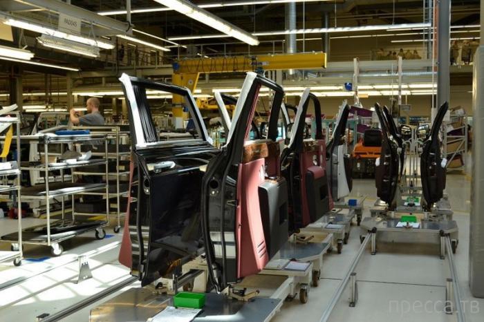 Фото-экскурсия на завод Rolls-Royce (39 фото)