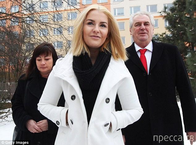 Дочь президента Чехии стала героиней секс-скандала (3 фото)