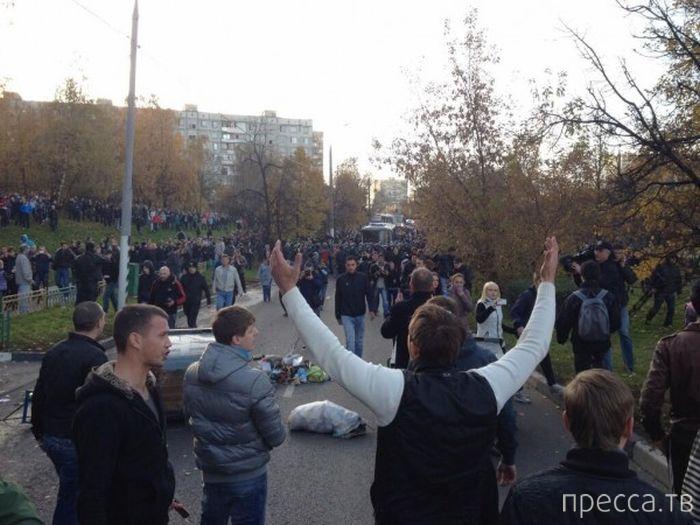 Последствия событий в Бирюлево (28 фото)