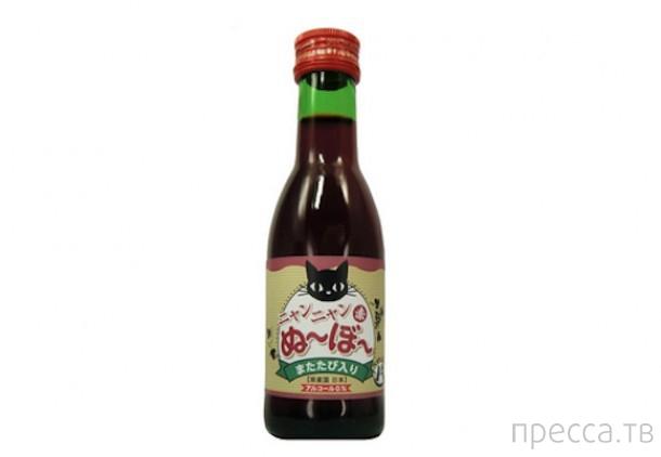"""Японское кошачье вино """"Мяу-мяу нового урожая"""" (3 фото)"""