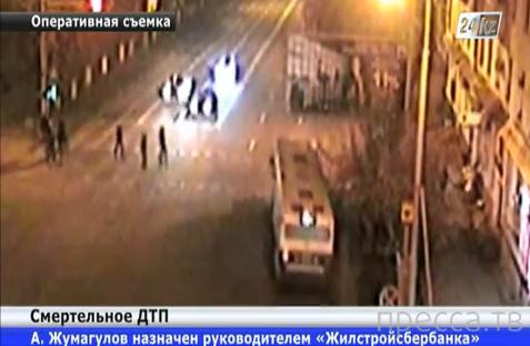 Пешеход погиб на месте... Пассажирский автобус сбил семейную пару. ДТП в Усть-Каменогорске.  Жесть!!!