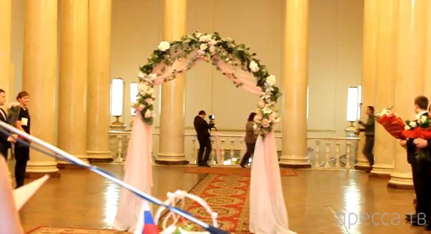 Не удержал невесту... курьез на свадьбе