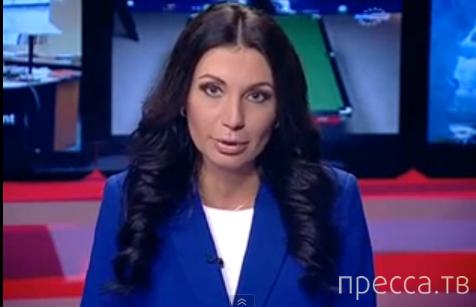 Ведущая новостей на молдавском канале жжет