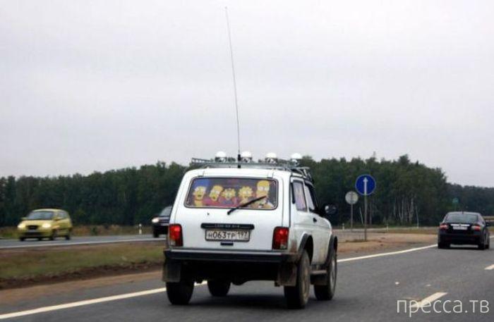 Подборка автоприколов (44 фото)